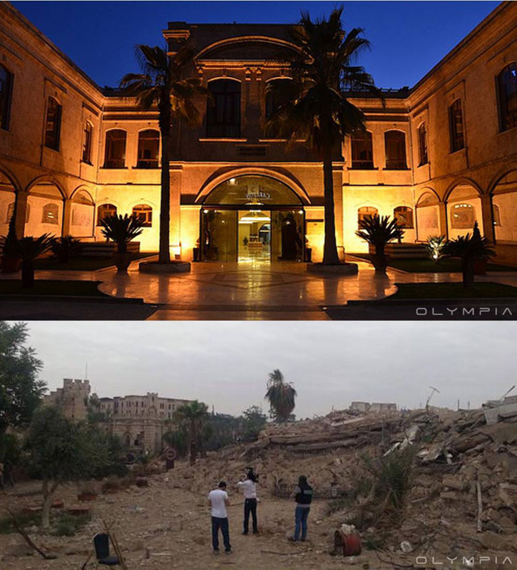 a syrian restaurant is posting before and after photos of aleppo and its heartbreaking 22 A Syrian Restaurant is Posting Before and After Photos of Aleppo and Its Heartbreaking
