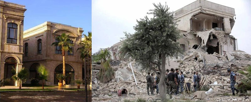 a syrian restaurant is posting before and after photos of aleppo and its heartbreaking 23 A Syrian Restaurant is Posting Before and After Photos of Aleppo and Its Heartbreaking