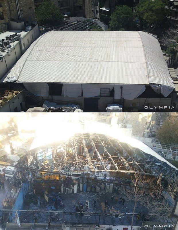 a syrian restaurant is posting before and after photos of aleppo and its heartbreaking 9 A Syrian Restaurant is Posting Before and After Photos of Aleppo and Its Heartbreaking