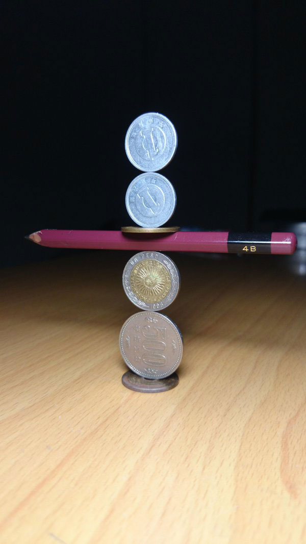 amazing coin stacking by thumb tani on twitter 10 Next Level Coin Stacking by @Thumb Tani