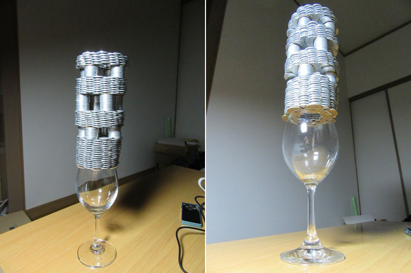 amazing coin stacking by thumb tani on twitter 26 Next Level Coin Stacking by @Thumb Tani