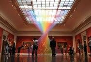Gabriel Dawe's Threaded Rainbows are Beautiful