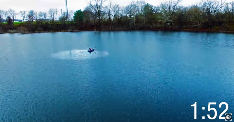 How a Tablespoon of Olive Oil Destroys Half an Acre of Waves on this Lake