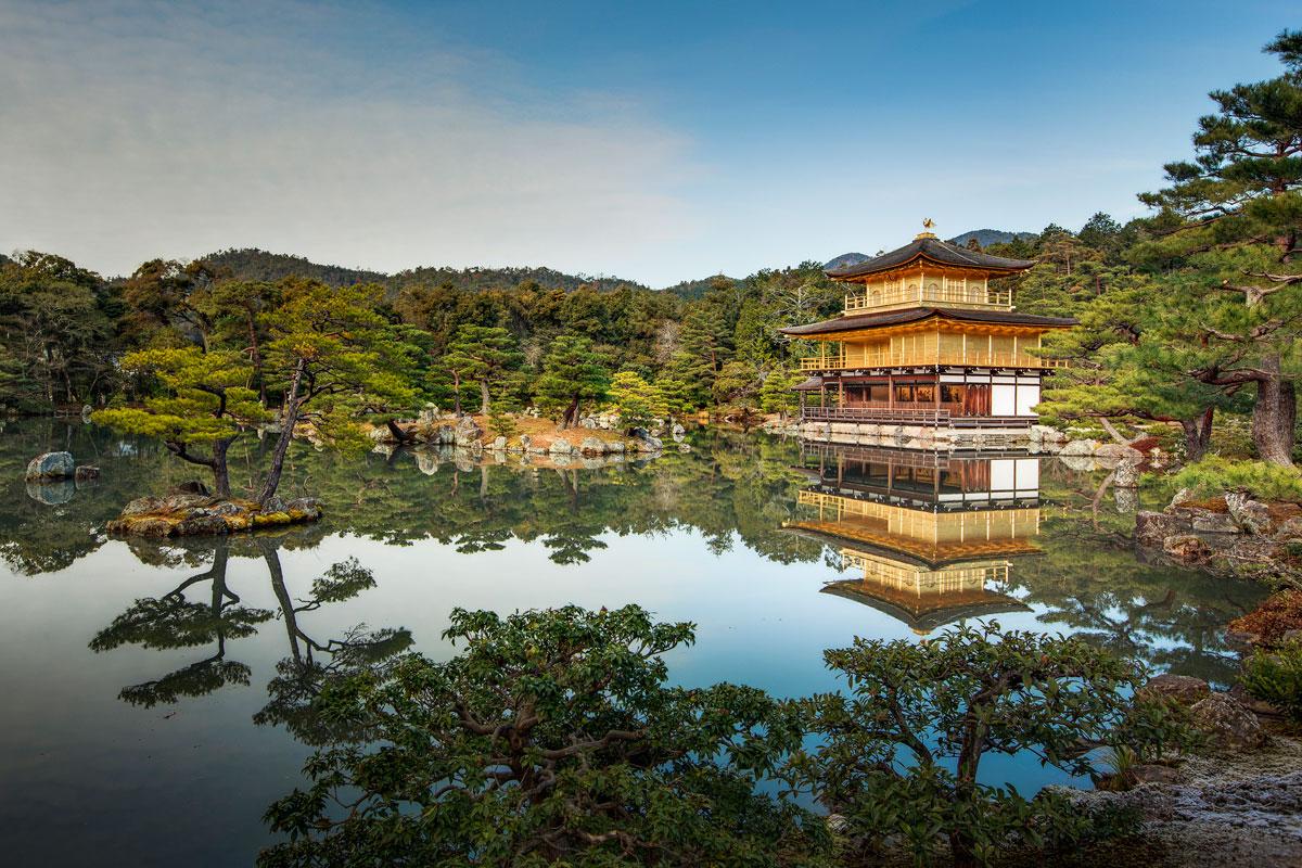 kinkaku ji golden pavillion kyoto japan 2 Picture of the Day: Kinkakuji (Golden Pavilion), Kyoto, Japan