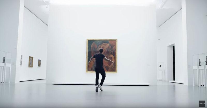 When Performance Art Meets Visual Art