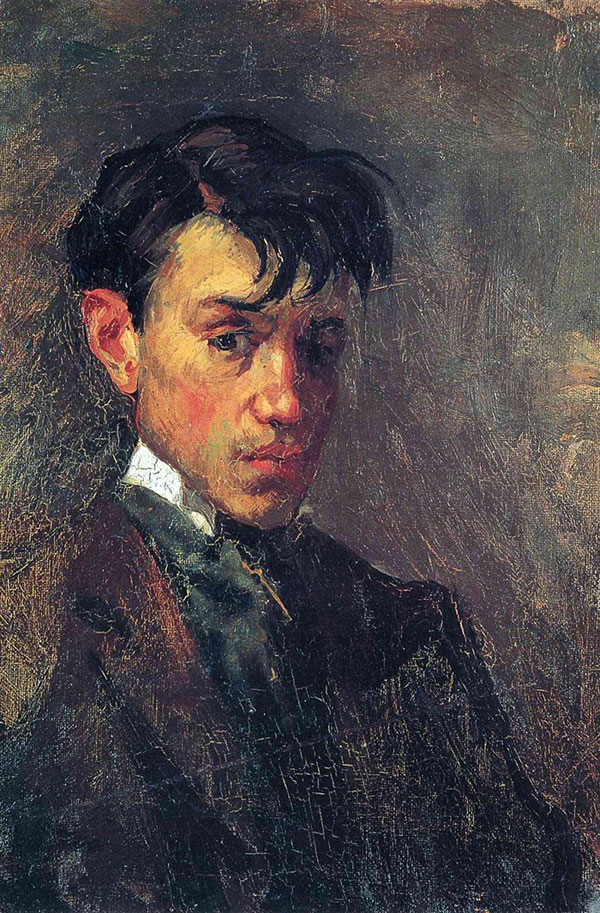 picasso self portrait 15 years old 1896 Picassos Self Portraits from 15 Years Old to 90 Year Old