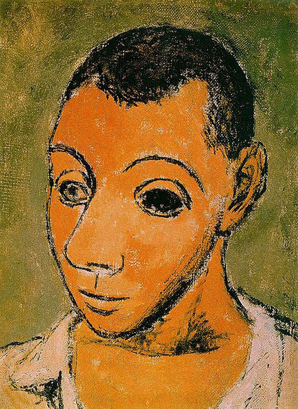 picasso self portrait 24 years old 1906 Picassos Self Portraits from 15 Years Old to 90 Year Old