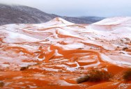 Picture of the Day: Snow in the Sahara for First Time in 40 Years