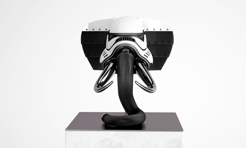 stormtrooper animal helmets by blank william 1 Stormtrooper Animal Helmets by Blank William (16 photos)