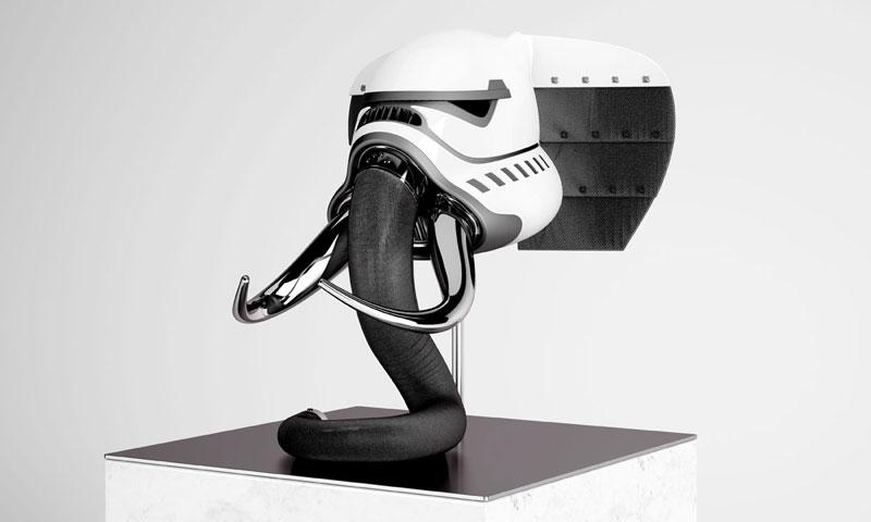stormtrooper animal helmets by blank william 19 Stormtrooper Animal Helmets by Blank William (16 photos)