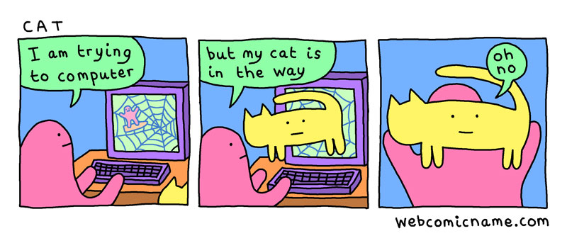 webcomic cliches by alex norris 10 This Guy Drew Every Webcomic Cliche He Came Across This Year