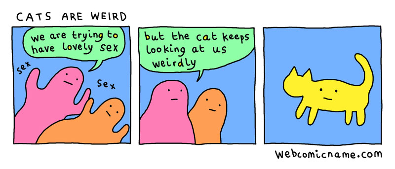 webcomic cliches by alex norris 4 This Guy Drew Every Webcomic Cliche He Came Across This Year