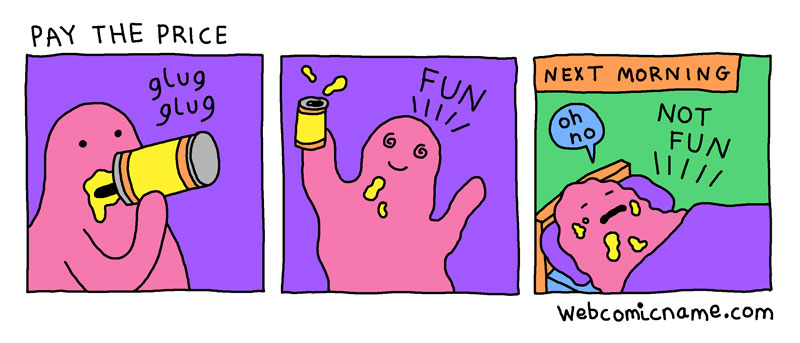 webcomic cliches by alex norris 6 This Guy Drew Every Webcomic Cliche He Came Across This Year
