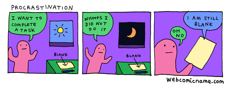 webcomic cliches by alex norris 7 This Guy Drew Every Webcomic Cliche He Came Across This Year
