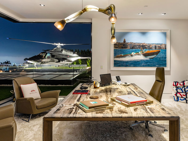 924 bel air road by bruce makowsky bam luxury development 18 This is What the Most Expensive House in the United States Looks Like (19 Photos)