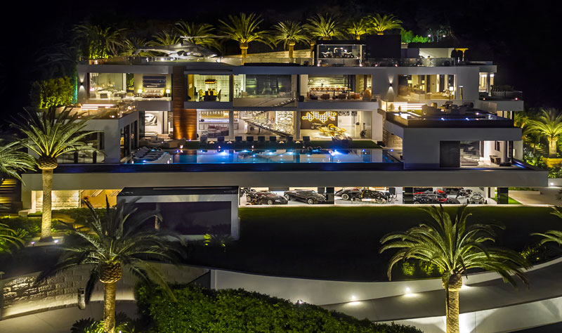 924 bel air road by bruce makowsky bam luxury development 19 This is What the Most Expensive House in the United States Looks Like (19 Photos)