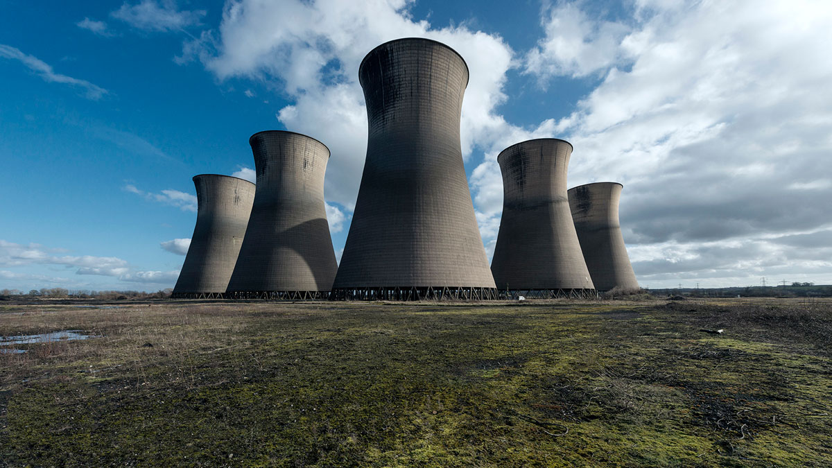 abandoned cooling towers by reginald van de velde 1 The Insides of these Abandoned Cooling Towers Look Straight Out of a Sci Fi Film