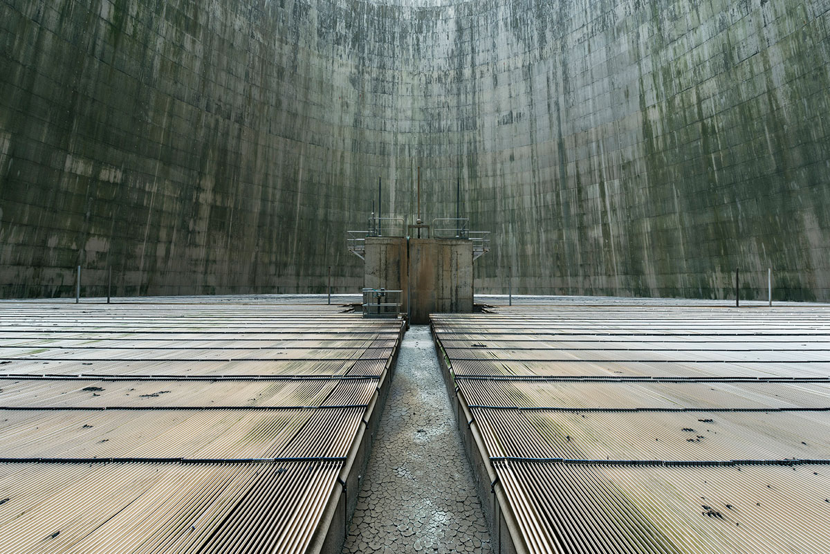 abandoned cooling towers by reginald van de velde 9 The Insides of these Abandoned Cooling Towers Look Straight Out of a Sci Fi Film