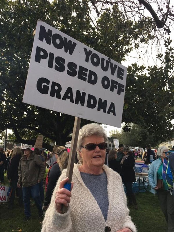 best funny creative signs from womens march 2017 14 50 Amazing Signs from Womens Marches Across the Globe