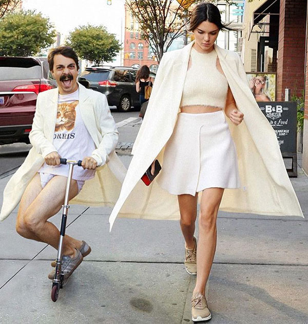 guy photoshops himself into kendall jenner instagram pics 13 This Guy Cant Stop Photoshopping Himself Into Kendall Jenners Instagram Pics