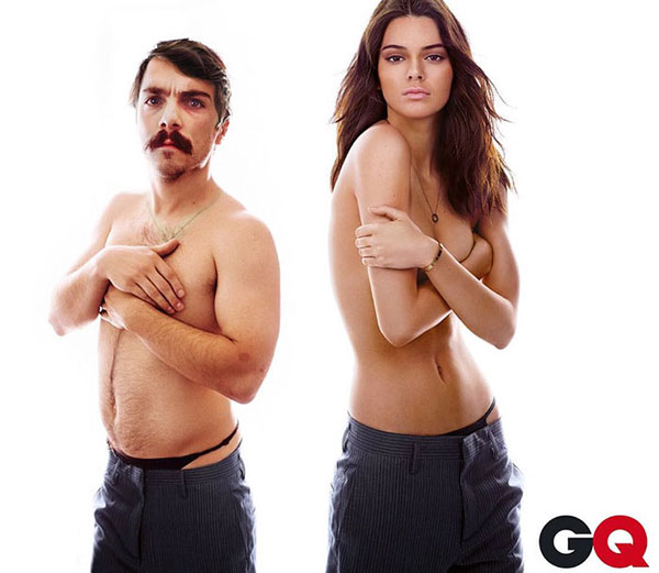 guy photoshops himself into kendall jenner instagram pics 7 This Guy Cant Stop Photoshopping Himself Into Kendall Jenners Instagram Pics