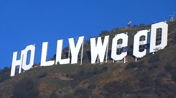 hollyweed sign close up Picture of the Day: Welcome to Hollyweed