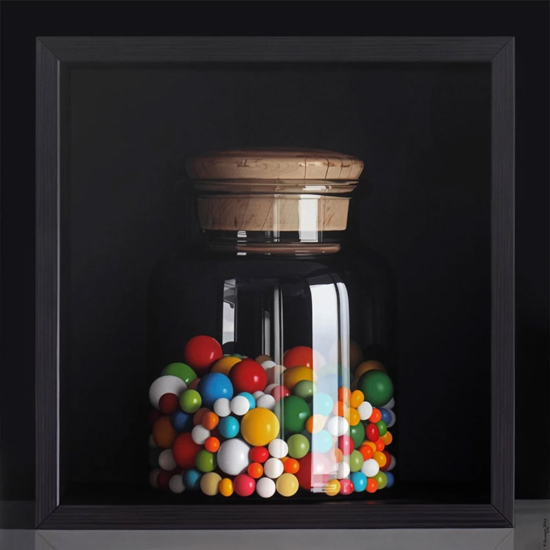 hyperrealistic oil paintings by pedro campos 2 These Look Like Photographs But Theyre Actually Oil Paintings