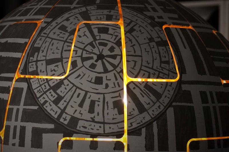 ikea death star lamp diy 10 Star War Fans Turn Popular IKEA Lamp Into Death Star