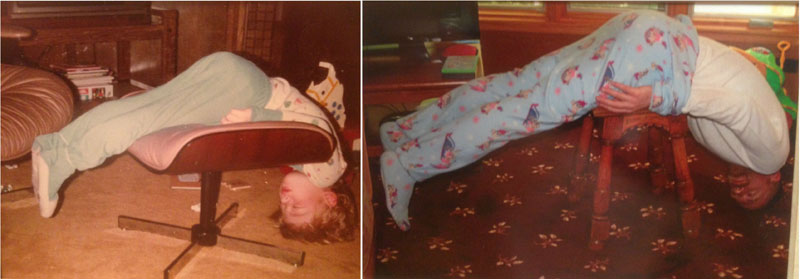 siblings recreate photos of them passed out as kids 6 These Siblings Recreated Funny Photos of Them Passed Out as Kids and Its Hilarious