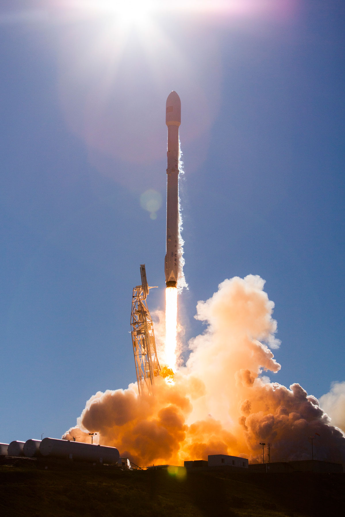 spacex launch and land january 2017 11 14 Amazing HQ Photos from SpaceXs Successful Launch and Landing