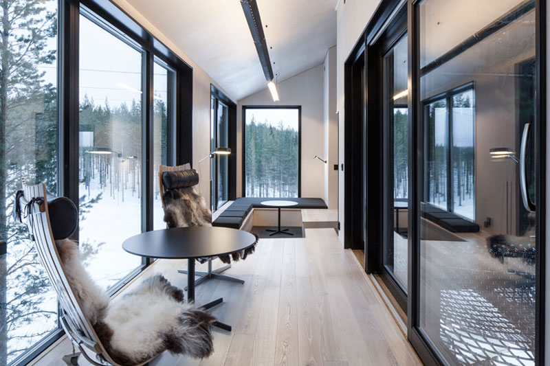 treehotel sweden the 7th room 12 The Newest Room at Swedens Treehotel has an Outdoor Net With a Tree Through It
