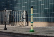 Picture of the Day: Bollard or UFO Attack?