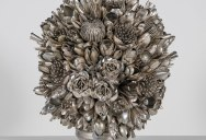 Ann Carrington Makes Beautiful Bouquets from Old Silverware