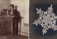 In 1885 Wilson Bentley Took the First Ever Photographs of Snowflakes (23 Photos)