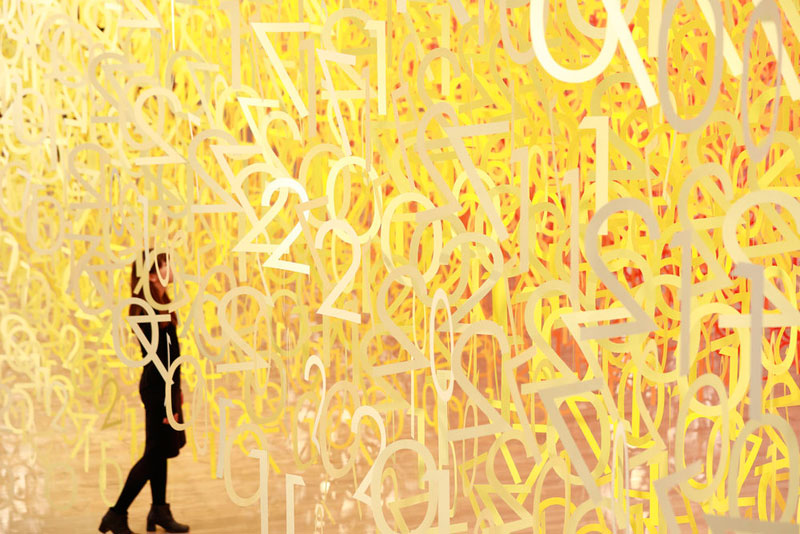 forest of numbers by emmanuelle moureaux 8 Forest of Numbers by Emmanuelle Moureaux