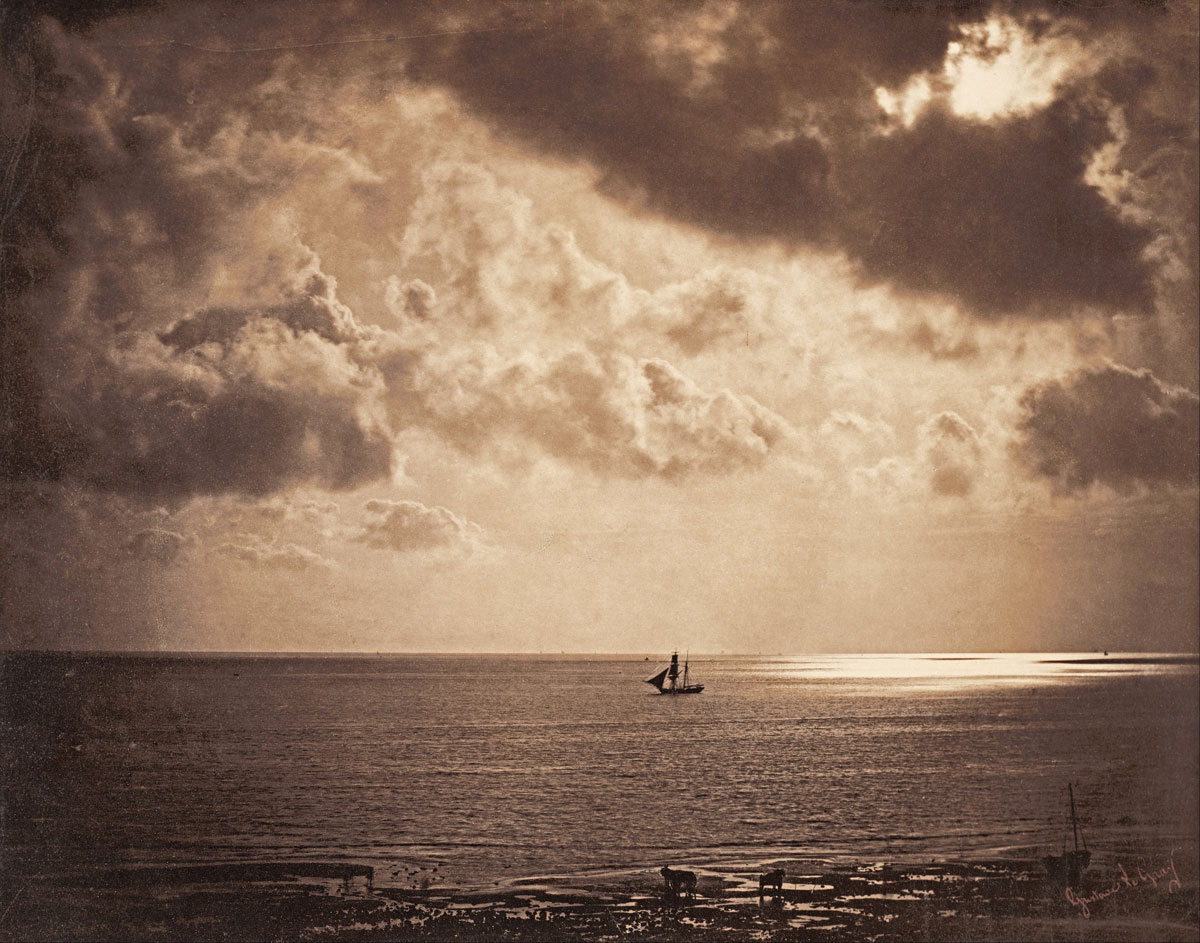 gustave le gray brig upon the water hdr 1856 Picture of the Day: Early HDR Photo From 1856