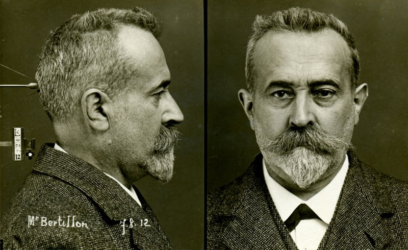 mug shot of the inventor of the mugshot alphone bertillon Picture of the Day: A Mug Shot of the Inventor of the Mug Shot (1912)