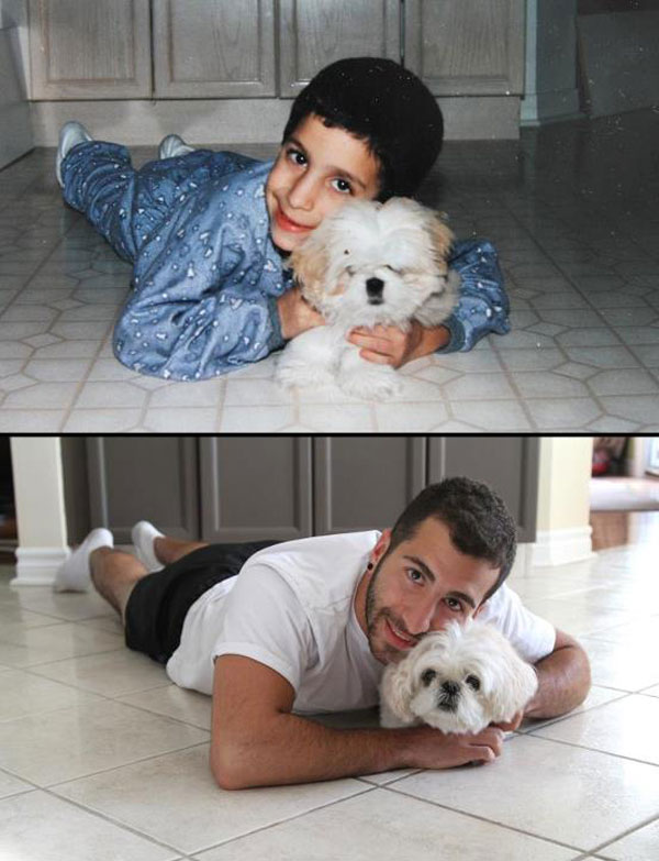 puppies dogs then and now 17 18 Then and Now Photos of Puppies/Dogs That Will Restore Your Faith in Everything