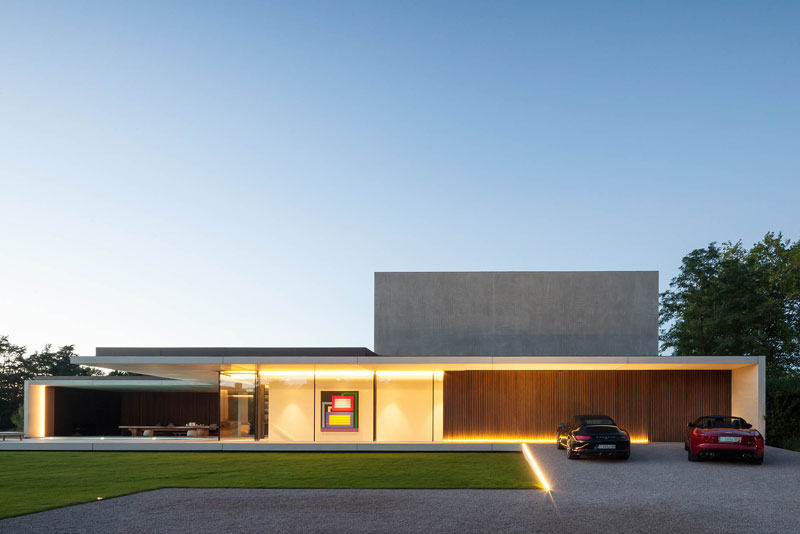 residence vdb by govaert and vanhoutte architects 1 This Guy Built His Dream Bachelor Pad With an Underground Club