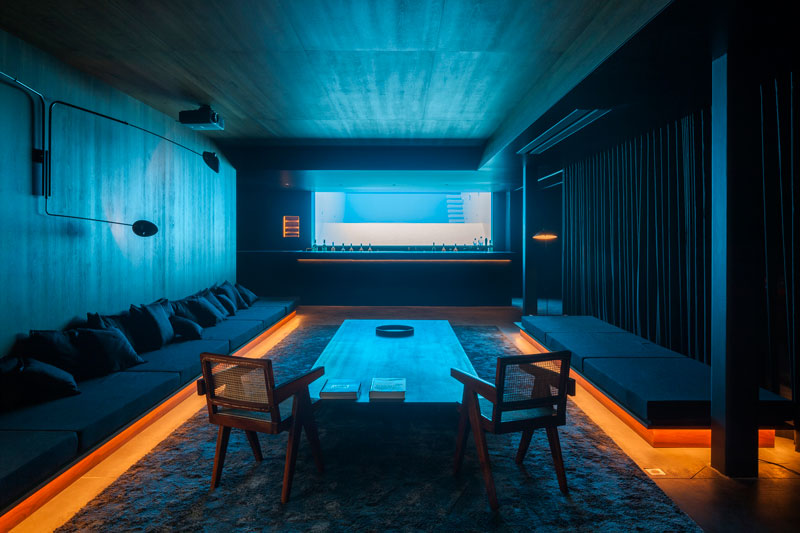 residence vdb by govaert and vanhoutte architects 10 This Guy Built His Dream Bachelor Pad With an Underground Club
