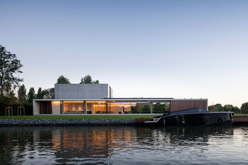 residence vdb by govaert and vanhoutte architects 20 This Guy Built His Dream Bachelor Pad With an Underground Club
