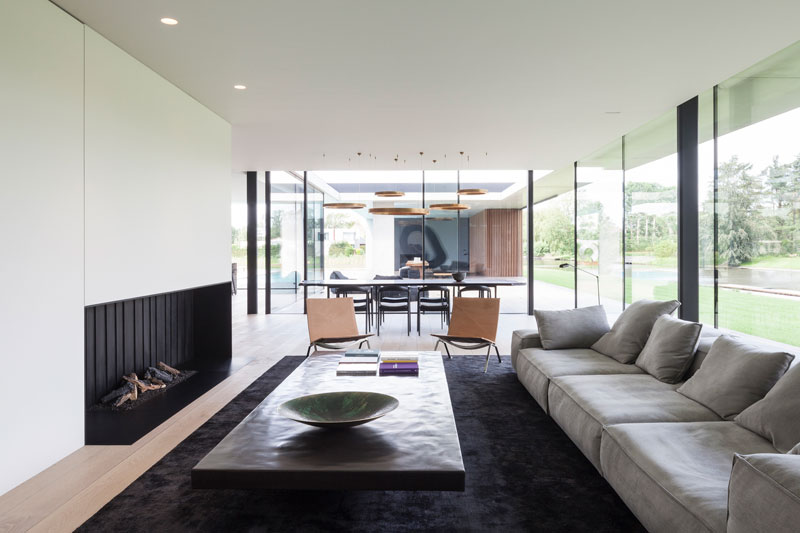 residence vdb by govaert and vanhoutte architects 4 This Guy Built His Dream Bachelor Pad With an Underground Club