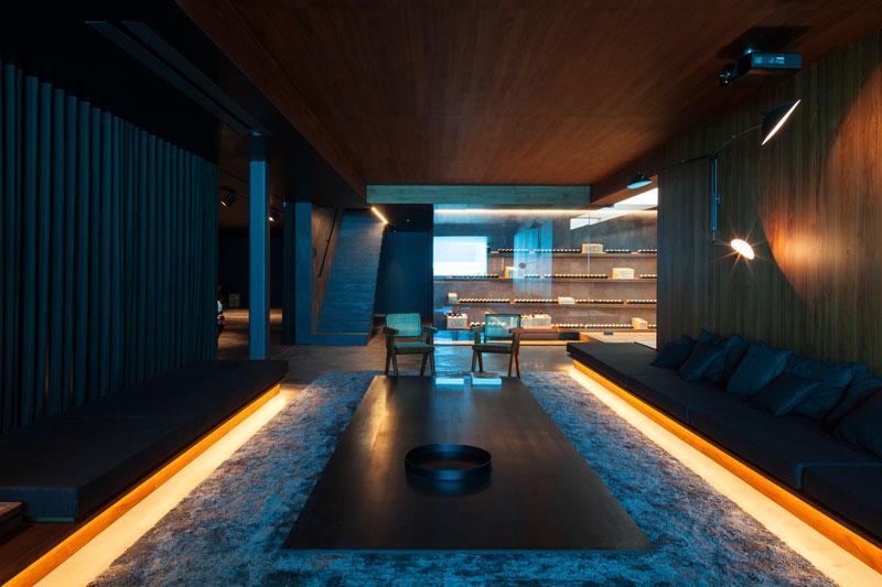 residence vdb by govaert and vanhoutte architects 7 This Guy Built His Dream Bachelor Pad With an Underground Club