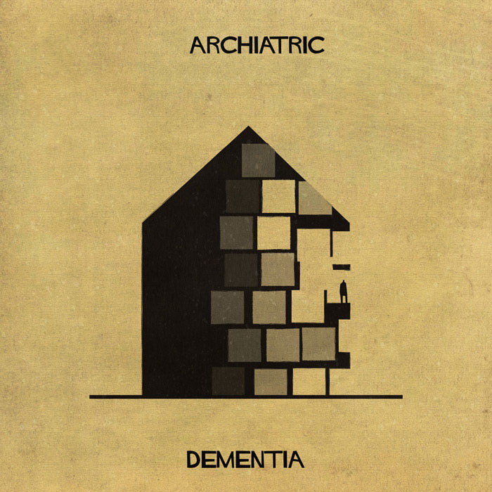 archiatric by federico babina 1 Artist Interprets Mental Illnesses and Disorders Through Architecture