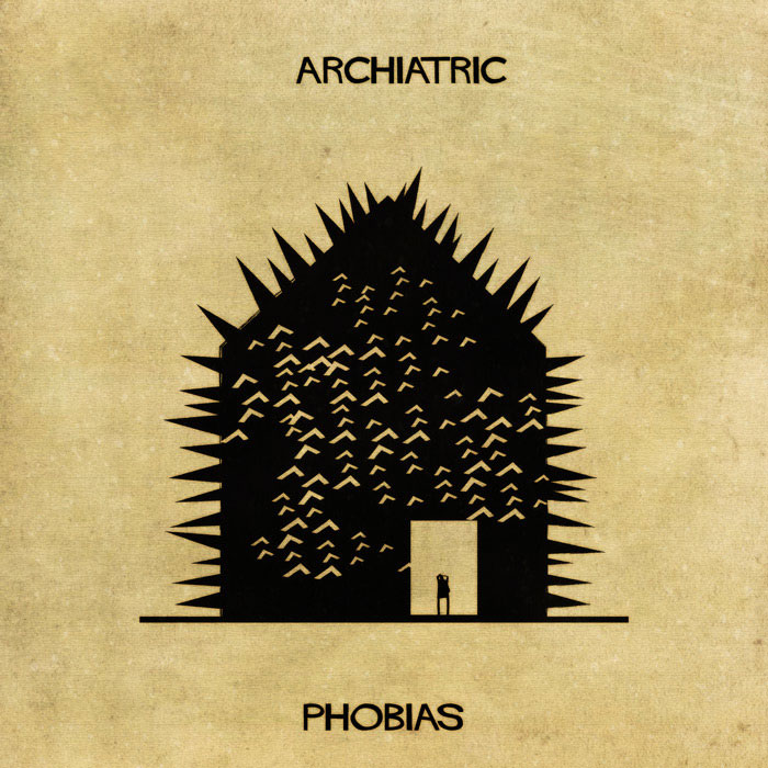 archiatric by federico babina 11 Artist Interprets Mental Illnesses and Disorders Through Architecture