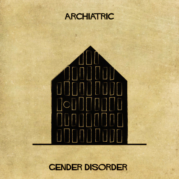 archiatric by federico babina 14 Artist Interprets Mental Illnesses and Disorders Through Architecture