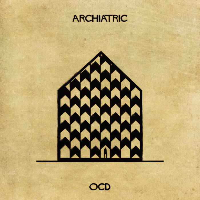 archiatric by federico babina 16 Artist Interprets Mental Illnesses and Disorders Through Architecture
