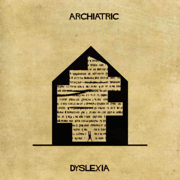 archiatric by federico babina 6 Artist Interprets Mental Illnesses and Disorders Through Architecture