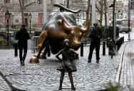 This Statue Just Appeared on Wall Street