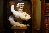 Picture of the Day: Banksy's Classical Bust of a Protestor